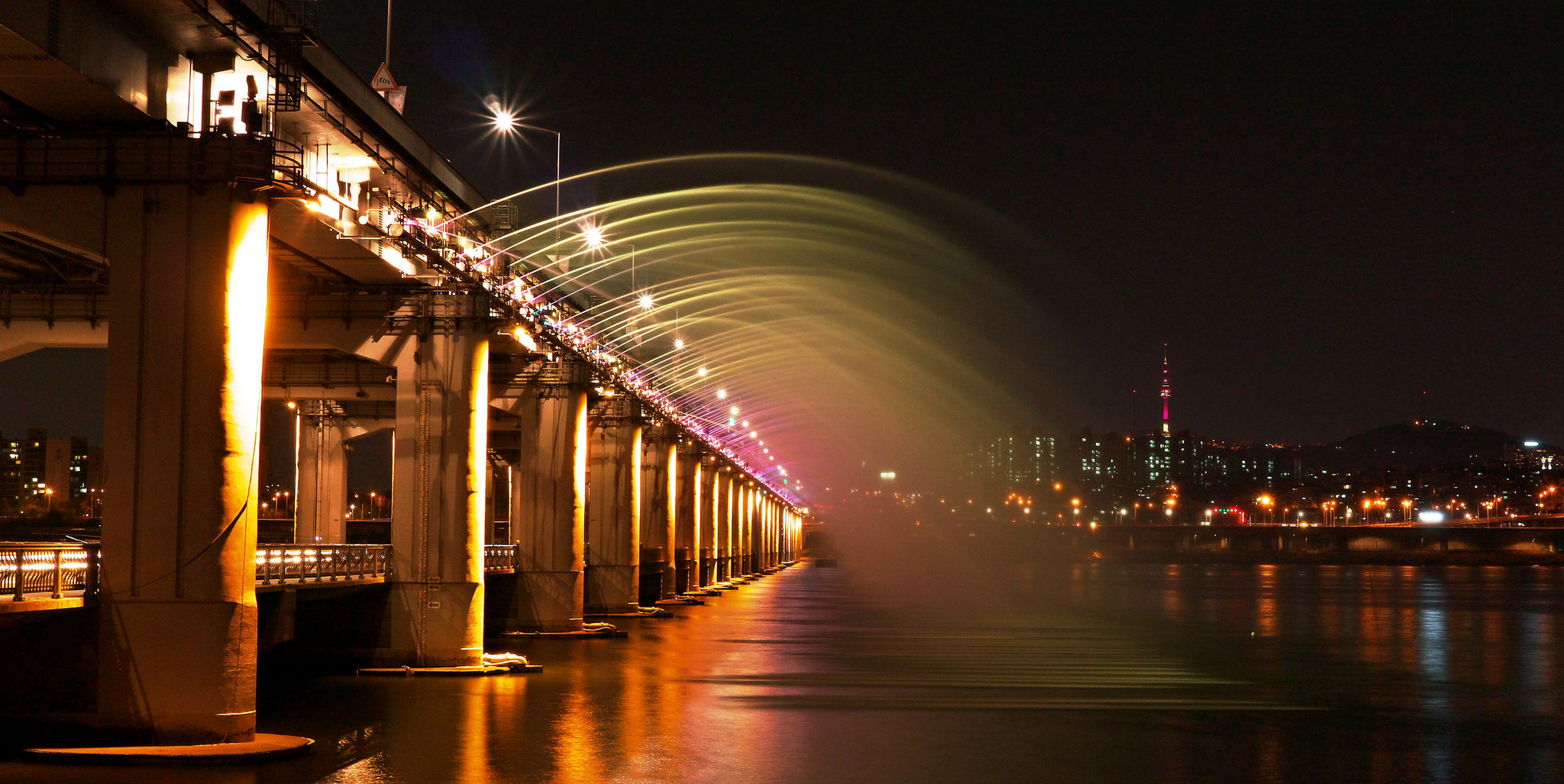 Banpo bridge South Korea